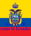 KEEP CALM AND wait for 1R come to Ecuador - Personalised Poster large