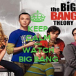 KEEP CALM AND WATCH BIG BANG - Personalised Poster large