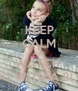 KEEP CALM AND WATCH  DOG WITH A BLOG - Personalised Poster large
