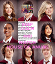 KEEP CALM AND WATCH  HOUSE OF ANUBIS - Personalised Poster large