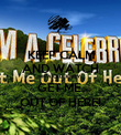 KEEP CALM AND WATCH IM A CELEBRITY GET ME  OUT OF HERE! - Personalised Poster large