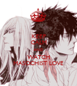 KEEP CALM AND WATCH MASOCHIST LOVE - Personalised Poster large