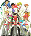 KEEP CALM AND WATCH OURAN HIGH SCHOOL HOST CLUB - Personalised Poster large