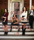 KEEP CALM AND WATCH PLL -A - Personalised Poster large