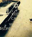 KEEP CALM AND WATCH SUPERNATURAL - Personalised Poster large