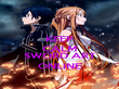 KEEP CALM AND WATCH SWORD ART ONLINE - Personalised Poster large