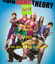 KEEP CALM AND WATCH THE BIG BANG THEORY - Personalised Poster large