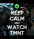 KEEP CALM AND WATCH TMNT - Personalised Poster large