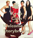 Keep Calm And Welcome to  Storybrooke - Personalised Poster large