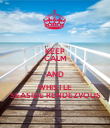 KEEP CALM AND WHISTLE SEASIDE RENDEZVOUS - Personalised Poster large