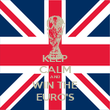 KEEP CALM AND WIN THE EURO'S - Personalised Poster large