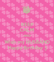 KEEP CALM AND Wish my HUSBAND Happy Birthday :) - Personalised Poster large