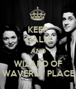 KEEP CALM AND WIZARD OF WAVERLY PLACE - Personalised Poster large