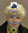 Keep Calm And Worship Zelo - Personalised Poster large