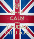 KEEP CALM AND YAUDAH GITU AJA - Personalised Poster large