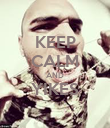 KEEP CALM AND YIKES  - Personalised Poster large