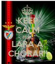 KEEP CALM BEBÉ LARA A CHORAR!! - Personalised Poster large