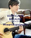 KEEP CALM BECAUSE 6 DAYS LEFT #heartstopsbeatin  - Personalised Poster large