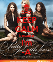 KEEP CALM because I'm -A - Personalised Poster large