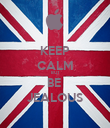 KEEP CALM BUT BE  JEALOUS - Personalised Poster large