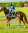 KEEP CALM CAUSE APOSTLE GOT THIS - Personalised Poster large