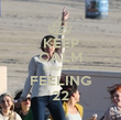 KEEP CALM CAUSE IM FEELING 22 - Personalised Poster large