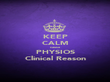 KEEP CALM cause PHYSIOS Clinical Reason - Personalised Poster large