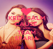 KEEP CALM CAUSE  WE'RE TEAM SPARIA - Personalised Poster large