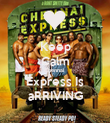 Keep Calm Chennai  Express Is aRRIVING - Personalised Poster large