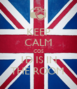 KEEP CALM COS 1D IS IN THE ROOM  - Personalised Poster large