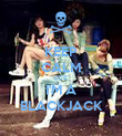 KEEP CALM COZ' I'M A BLACKJACK - Personalised Poster large