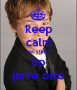 keep calm en stem op jurre otto - Personalised Poster large