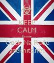 KEEP CALM Escute  Geek Na Rede geekhits.net - Personalised Poster large