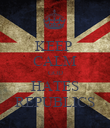 KEEP  CALM GOD HATES REPUBLICS - Personalised Poster large