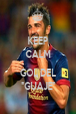 KEEP CALM  GOL DEL ''GUAJE'' - Personalised Poster large
