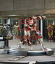 KEEP CALM I'm Iron Man   - Personalised Poster large