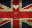 KEEP CALM I STILL LOVE ALFIE - Personalised Poster large