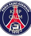 KEEP CALM ICI C'est PARIS - Personalised Poster large