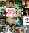 KEEP CALM it's alaa Birthday - Personalised Poster large