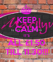 KEEP CALM IT'S ALL £1.50 TILL 11.30!!! - Personalised Poster large