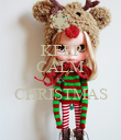 KEEP CALM It's CHRISTMAS  - Personalised Poster large