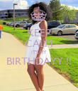 KEEP CALM IT'S MY  BIRTHDAYY !!  - Personalised Poster large