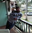 KEEP CALM! IT's RAFA  - Personalised Poster large