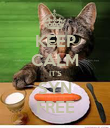 KEEP CALM IT'S SYN FREE - Personalised Poster large