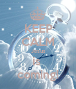 KEEP CALM Jesus is  coming! - Personalised Poster large