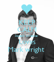 KEEP CALM Joseph priestley Loves Mark wright  - Personalised Poster large