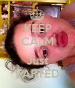 KEEP CALM  Just FARTED - Personalised Poster large