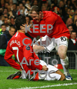 KEEP CALM LIONS Are To MTOC - Personalised Poster large
