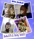 KEEP CALM Love Da Blue Eye  BABEZ - Personalised Poster large