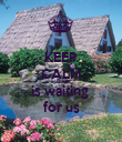 KEEP CALM MADEIRA is waiting  for us - Personalised Poster large